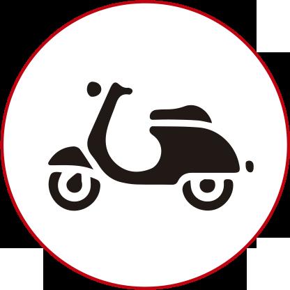 moto-blanco