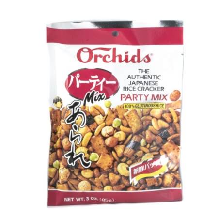 Japanese Rice Cracker Party Mix
